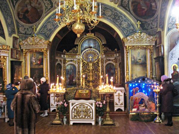 Канун Рождества Христова храме